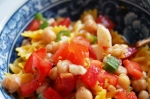 Chick Pea Pasta Salad