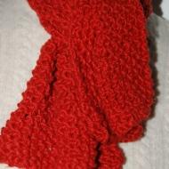 Orange scarf complete
