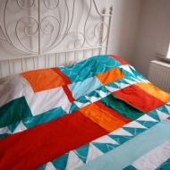 Patchwork Bed Cover
