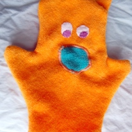 Washcloth Puppet