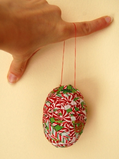 Christmas Mache ornament
