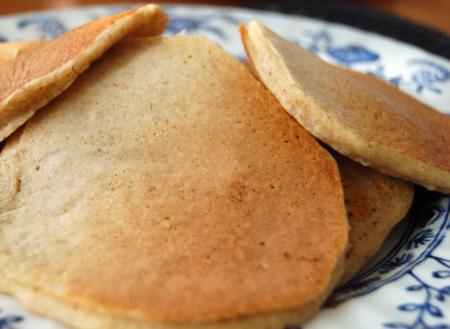Flourless Gluten-Free Pancakes