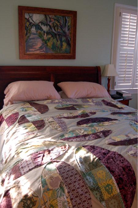 Oval Applique Duvet