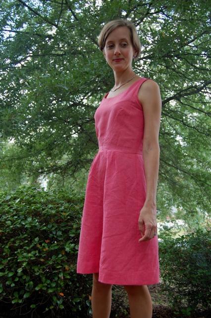Linen Lisette Passport Dress