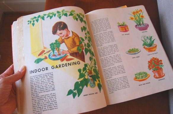 Vintage Children's Craft Book