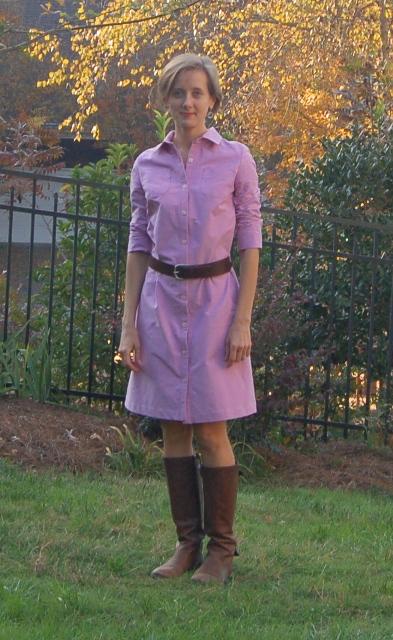 Lisette Shirt Dress