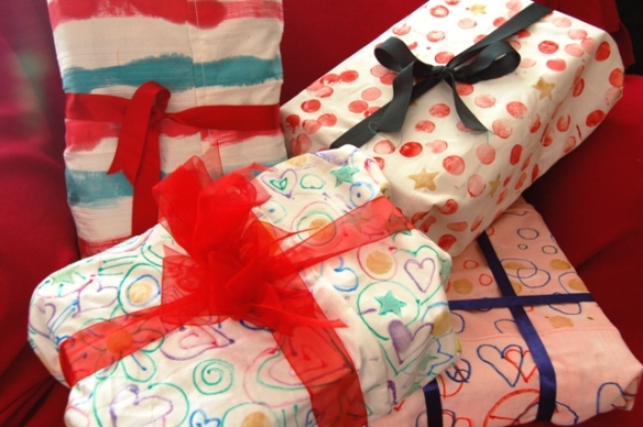 Gift Wrap Cloths