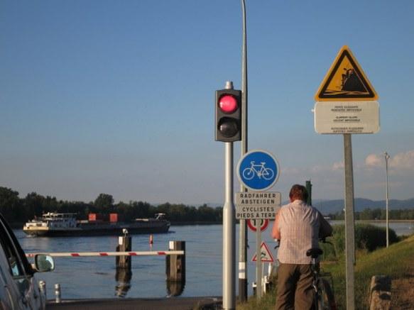 Rhine Ferry Crossing