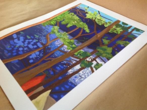 iPad Painting Print